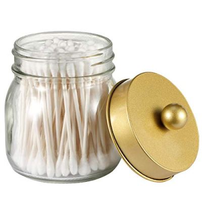 SheeChung Mason Jar Bathroom Apothecary Jars