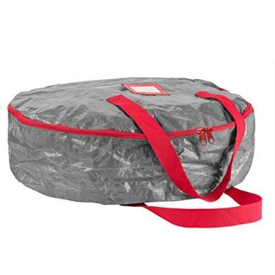"""ZOBER Christmas Wreath Storage Bag 24"""""""