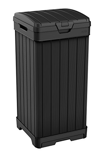 38 Gallon Trash Can with Lid and Drip Tray