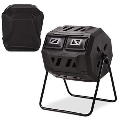 Heat Preservation and Water-Proof Cover 360 Degree Rotating Composter
