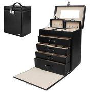 Homde Jewelry Box Girls Fully Locking Organizer