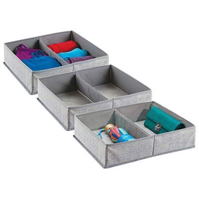 Dresser Drawer and Closet Storage Organizer Bin
