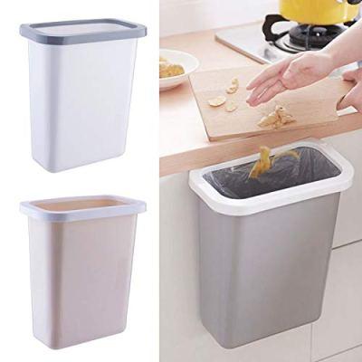 S WIDEN ELECTRIC Plastic Kitchen Hanging Trash Bin
