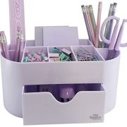Acrylic Desk Organizer for Office Supplies and Desk Accessories