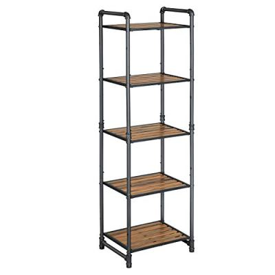 VASAGLE Bathroom Shelf, 5-Tier DIY Storage Rack