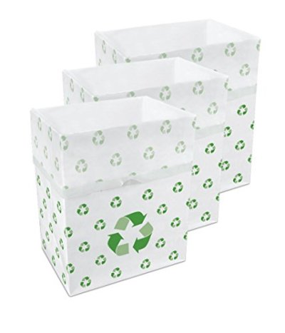 Disposable Sanitary Trash Cans & Recycling Bins