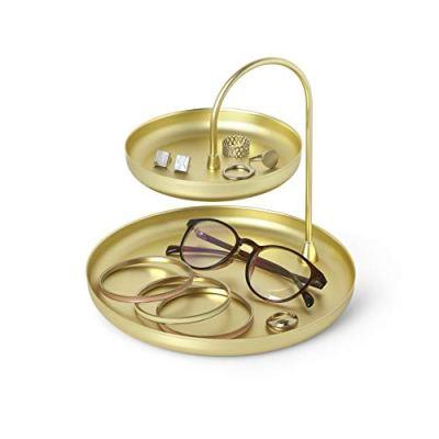 Umbra Poise Large Jewelry Tray, Double Jewelry Tray