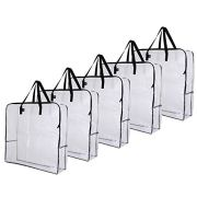 VENO Over-Sized Clear Storage Bag W/ Strong Handles