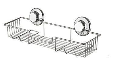 SANNO Bathroom Shower Caddy Bath Shelf Storage Combo Organizer