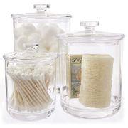 Premium Quality Clear Plastic Apothecary Jars