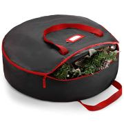 Premium Christmas Wreath Storage Bag - 30 Inch