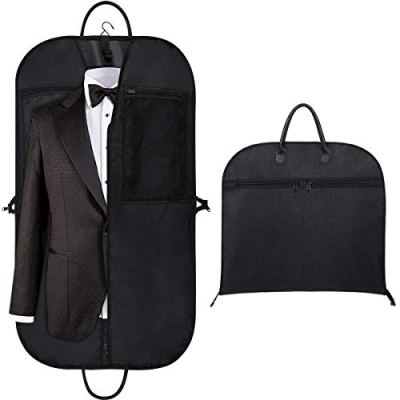 "Orange Tech 43"" Gusseted Travel Garment Bag for Business"