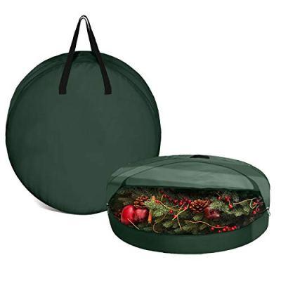 Pumpumly Christmas Wreath Storage Bag