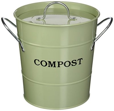2-in-1 Indoor Compost Bucket, 1 Gallon