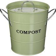 2-in-1 Indoor Compost Bucket, 1 Gallon
