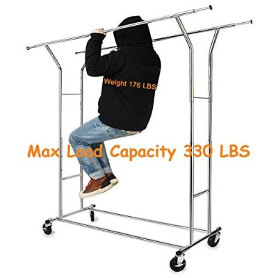 330 lbs Load Capacity Commercial Grade Clothing Garment