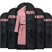 HOUSE DAY Garment Bags for Storage(5 Pack 60 inch)