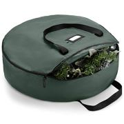 "Premium Christmas Wreath Storage Bag 24"""