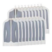 KEEGH Hanging Suit Bags Clear Garment Bag