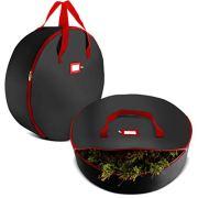 Christmas Wreath Storage Bag Xmas Tear Resistant Storage