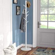 Vlush Wooden Coat Rack Free Standing