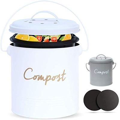 ÉLEVER Compost BIN - Farmhouse Kitchen Compost Bin