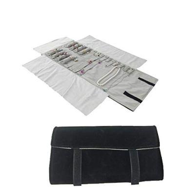 treachi Travel Roll Bag Jewelry Display Storage Organizer