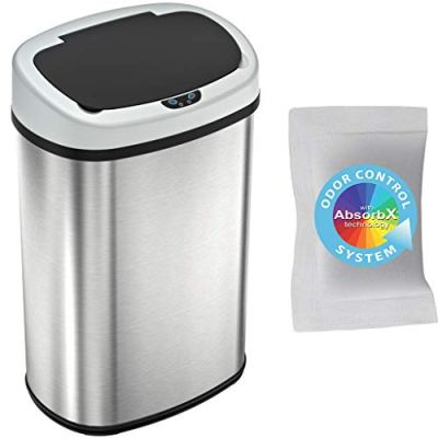 Touchless Trash Can with Odor Control System