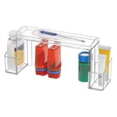 Plastic Medicine Cabinet High-Rise Storage Organizer