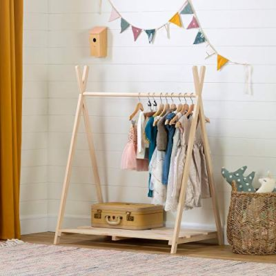 South Shore Sweedi Scandinavian Clothes Rack