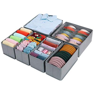Foldable Closet Storage Bins Drawer Organizers