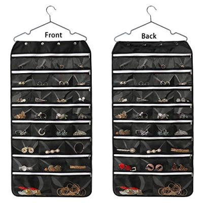 Hanging Jewelry Organizer, McoMce Double Sided 56 Pockets