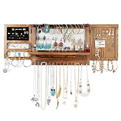 Large Hanging Jewelry Storage