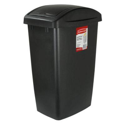Rubbermaid Swing-Top Lid Recycling Bin for Home