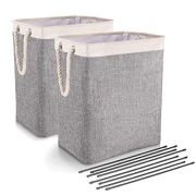 DYD Laundry Basket with Handles 2 Pack