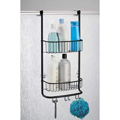 iDesign Forma Bathroom Over the Door Shower Caddy