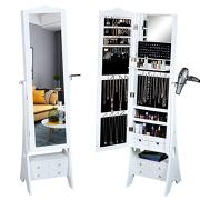 Jewelry Organizer Armoire with LED lights