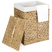 Best Choice Products Woven Water Hyacinth Wicker