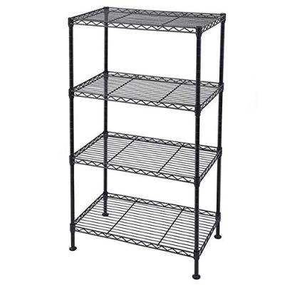 Vacclo 4-Tier Wire Shelving 4 Shelves Unit Metal Storage
