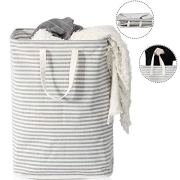 72L Freestanding Laundry Basket with Long Handles