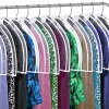 Clear Vinyl Shoulder Covers Closet Suit Protects Storage