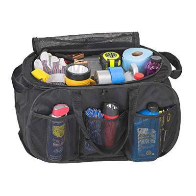 Smart Design Pop Up Trunk Organizer w/ Easy Carry Handles