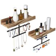 Hanging Jewelry Organizer Wall Mounted Earring Holder