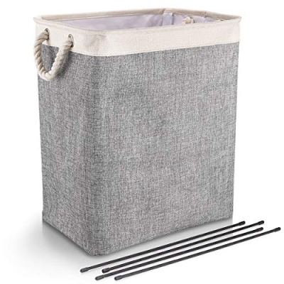 DYD Laundry Baskets with Handles Collapsible Linen Hampers
