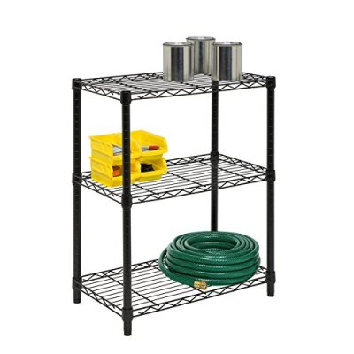 Honey-Can-Do 3-Tier Heavy Duty Adjustable Shelving Unit