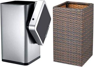 Smart Trash Can, [2 Pack] Smartideal 12Litter