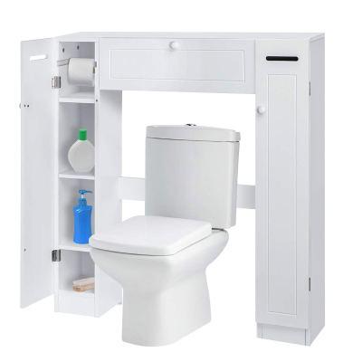 KINGSO Bathroom Organizer Over The Toilet Storage Cabinet for Bathroom
