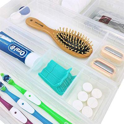 Makeup Bathroom Organizer Set of 4 Trays