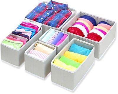 Simple Houseware Foldable Cloth Storage Box Closet