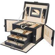 Homde Jewelry Box Necklace Ring Storage Organizer